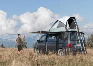 Avis tente de toit pour utilitaire Quechua 500 Fresh & Black